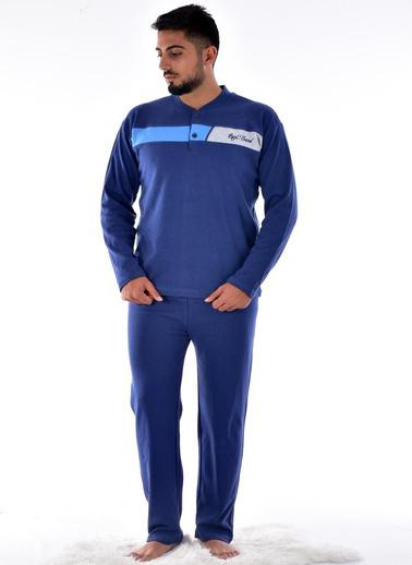 Pemilo Pijama Takım İndigo